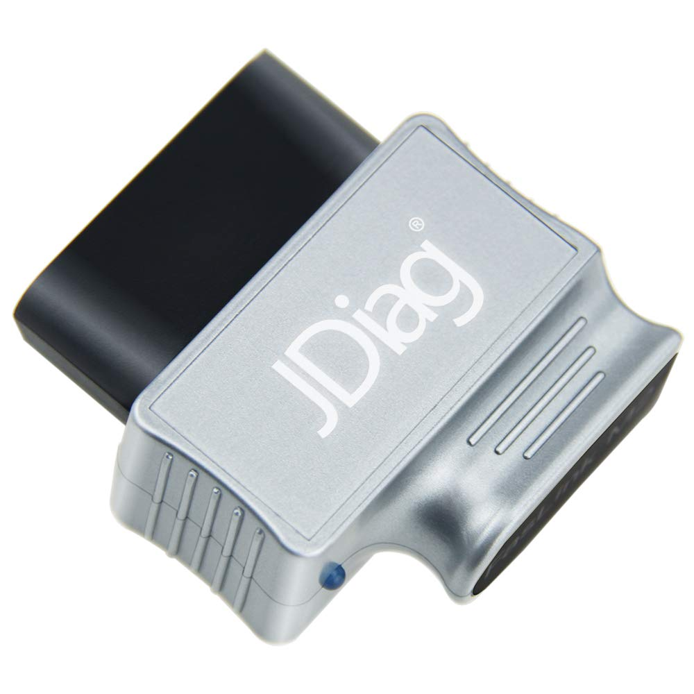 JDiag Enhanced Bluetooth Car Diagnostic OBDII Scan Tool (Reads ABS, Airbag, Transmission Codes)