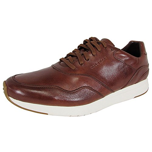 (Cole Haan Mens Grandpro Runner Leather Sneaker Shoe, Woodbury Handstain, US 13 )