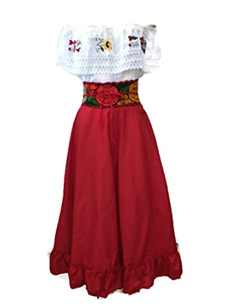 a503079514 Folklórico Falda Dancing Skirts at Amazon Women s Clothing store