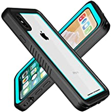 ImpactStrong iPhone X Waterproof Case FS [Facial Recognition Compatible] Slim Full Body Protection for Apple iPhone X - Ocean Blue