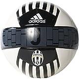 adidas Performance JUVENTUS Soccer Ball, White/Black/Dark Football Gold, 5