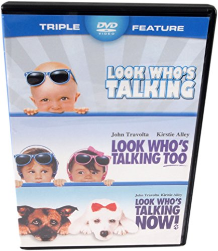 Look Who's Talking / Look Who's Talking Too / Look Who's Talking Now! - Triple Feature - all 3 movies in one package