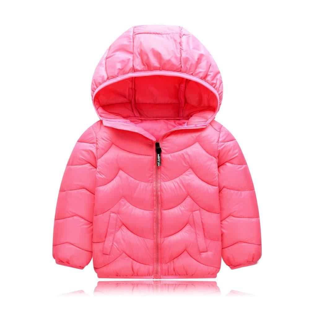 wongfon Niños chaqueta de plumón Otoño y Invierno Corto ...