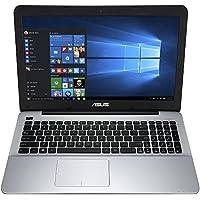 Asus 15.6 High Performance Flagship Laptop PC - AMD Quad-Core A10 Processor, 6GB RAM, 500GB HDD, AMD Radeon R6 graphics, DVD, Bluetooth, HDMI, Webcam, Windows 10