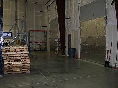 NASA Reflective White Foam Core Warehouse Garage Door Insulation Kit 10L x 10H