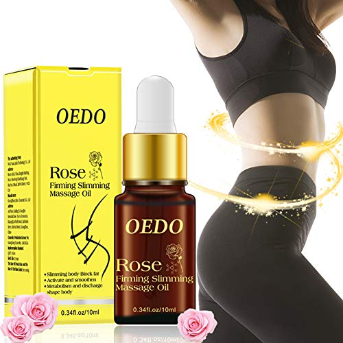 Kekailu Rose Firming Slimming Massage Essential Oil Fat Burning Weight Loss Skin Care