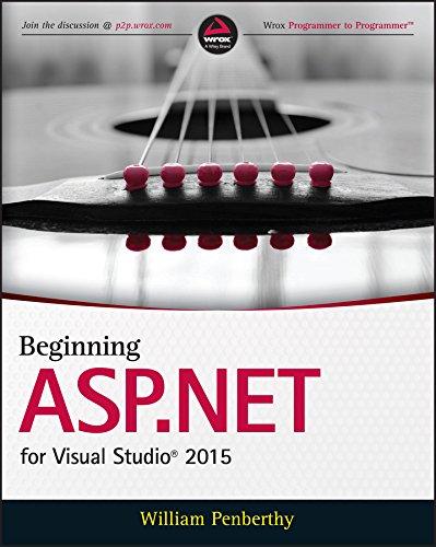 Beginning Web Visual (Beginning ASP.NET for Visual Studio 2015)