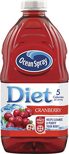 Ocean Spray Diet Juice Drink, Cran-Lemonade, 6 Count (Pack of 4) 1 (1) 8-Pack of 64 Ounce bottles (512 ounces) Only 5 calories per serving With Pact Cranberry Extract to help cleanse and purify your body