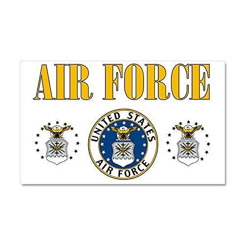 Car Magnet 20 x 12 Inch United States Air Force Military Seal