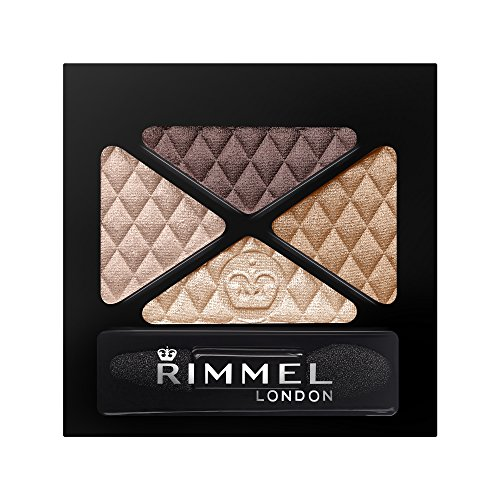 Rimmel Glam'Eyes Quad Eye Shadow Smokey Brun