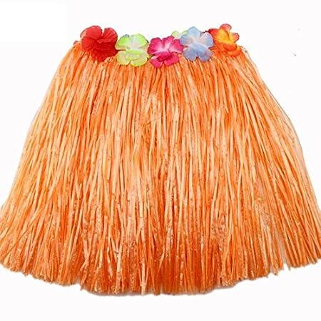 Las fibras de plástico mujeres Hierba Hula Faldas Falda Artículos ...