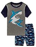 EULLA Toddler Clothes Boys Shark Outfits Cotton