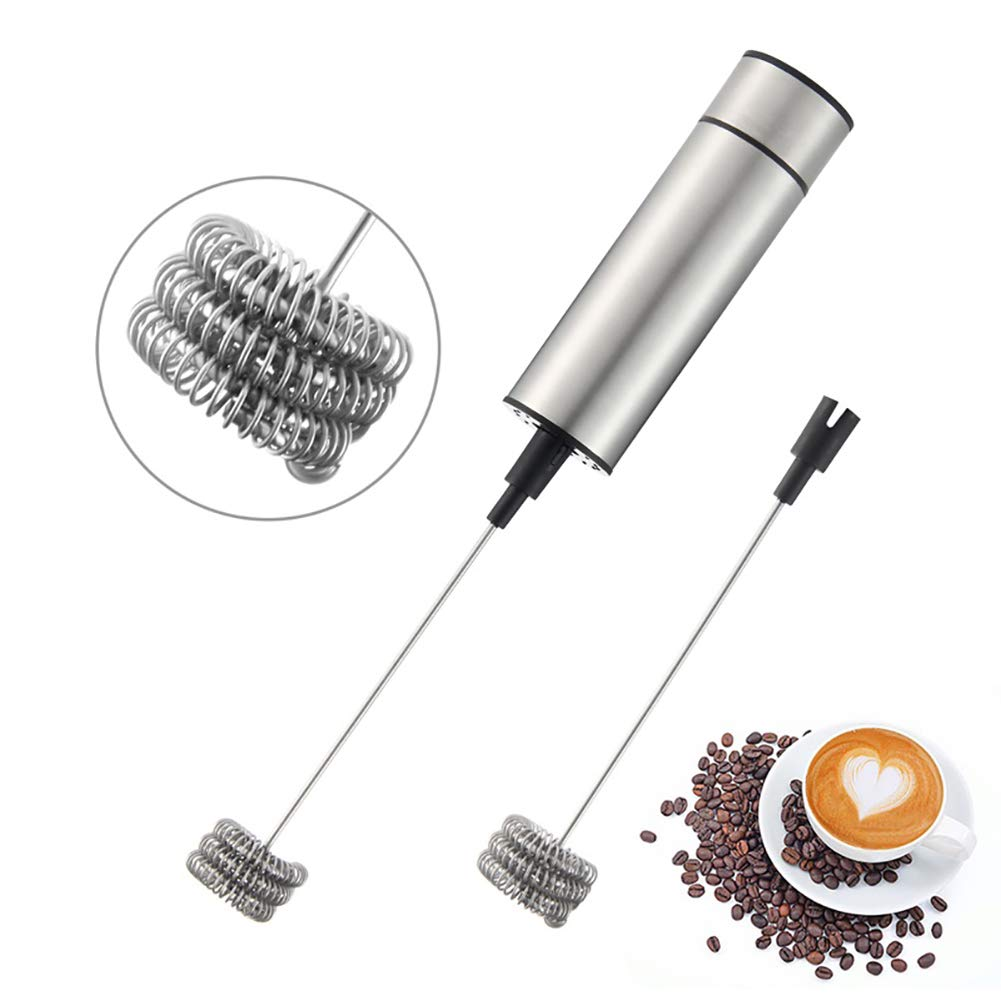 vitihipsy M/élangeur de Cuisine /électrique mousseur /à Lait Fouet Lait Main mousseur pour Batteur /à /œufs caf/é m/élangeur avec Support