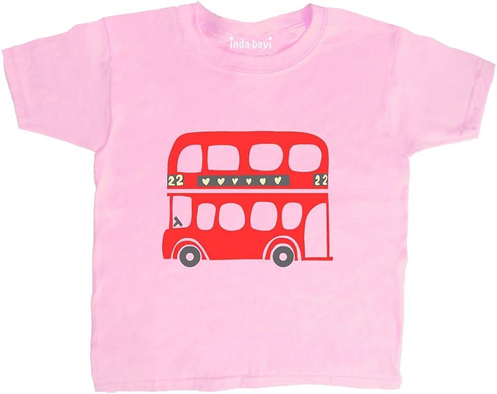 Inda-Bayi Baby-Toddler-Kids Cotton T Shirt London Bus