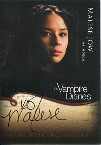 Vampire Diaries Season 1 Trading Cards – Malese Jow Autograph
