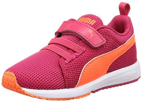 Puma Carson Runner V Kids - Zapatillas de running Unisex niños Rosa - Pink (rose red-fluo peach-white 21)