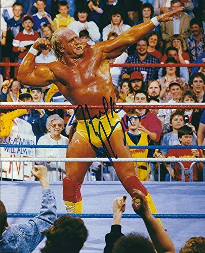 Autographed Hulk Hogan WWE 8x10 Photo with ()