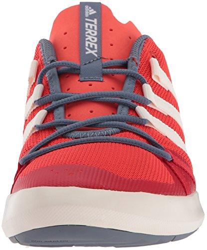 Scarpa Da Passeggio Adidas Outdoor Mens Terrex Cc Barca Hi-res Rosso / Bianco Gesso / Arancio