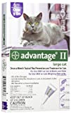 Advantage II for Cats 9-18 lbs, Purple 12 Pack, My Pet Supplies