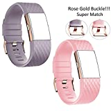 Band for Fitbit Charge 2 Wrist Band Classic Fitness Flex Adjustable Colorful Fashion Sport and Sleep Clasp Bracelet Replacement Accessories