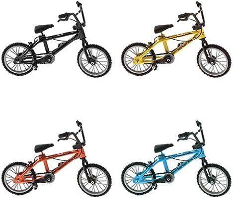 4 Piezas 1:24 Mini Bicicleta de Dedo de Aleación Juguetes en ...