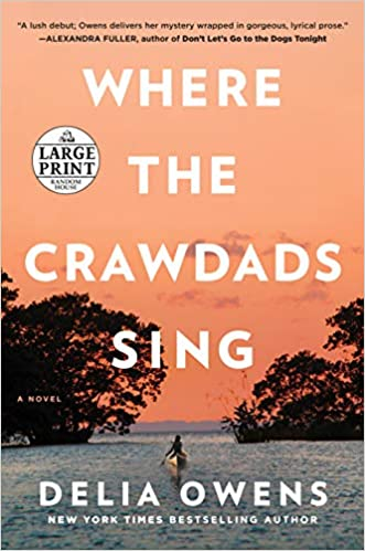 2019 Gift Guide book where the crawdads sing