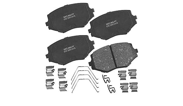 Pro Braking PBR1180-TBL-BLU Rear Braided Brake Line Transparent Blue Hose /& Stainless Blue Banjos