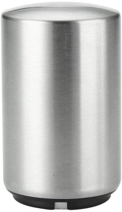 QYPM Magnetic Beer Bottle Opener,Stainless Steel Magnet Push Down, Pop Off Soda Openers - Sharp Looking, Easy to Use, Automatic