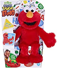 Sesame Street Tickliest Tickle Me Elmo Laughing, Talking, 14-Inch Plush Toy for Toddlers, Kids 18 Months &
