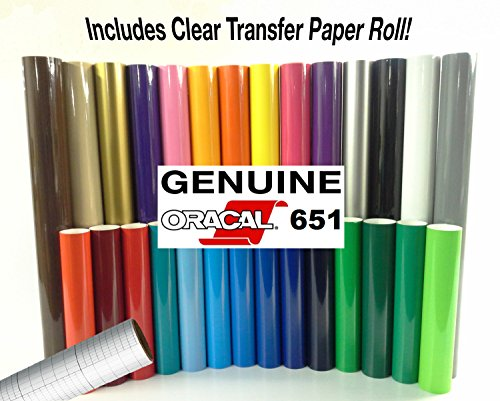 Colour Roll - ORACAL 651 Gloss Craft Adhesive Vinyl 12