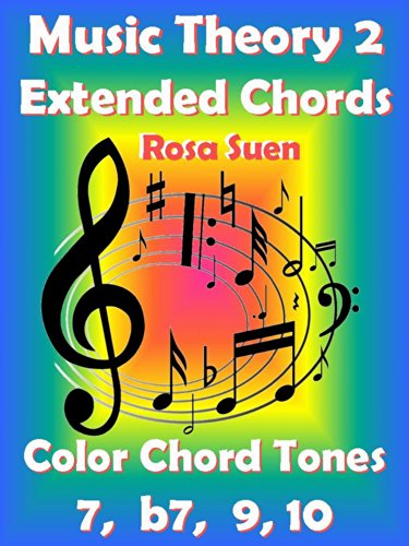 Music Theory 2 - Extended Chords - Color Chord Tones - 7, b7, 9, 10 ...