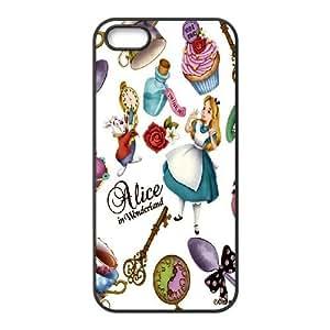 JenneySt Phone CaseAlice in Wonderland Girls Animal For Apple Iphone 5 5S Cases -CASE-3