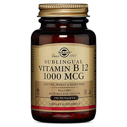 Solgar Vitamin B12 1000 Nuggets product image