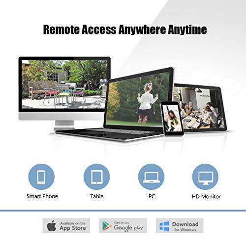Security Camera System 960H Waterproof Outdoor//Indoor DVR Kit HD IR WIFI CCTV