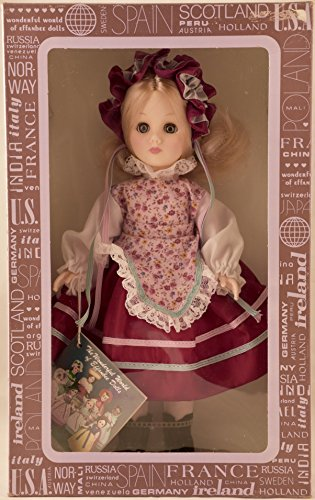 Corp - #1110 - International Series - Hungary - 11 Inch Vinyl Doll in Traditional Costume - OOP - New - Collectible (Effanbee Vinyl Doll)
