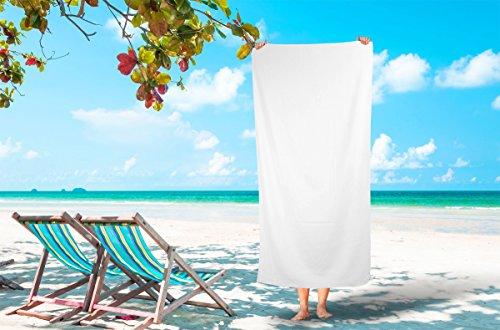 Silken Textile Large 100% Turkish Cotton Ultra Soft Terry Velour Beach Towel Spa Bath Pool by (1, Light Beige) (Home Decor Stores Laguna Beach)