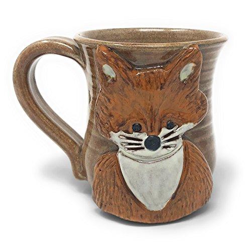 MudWorks Pottery Vixan the Fox Mug