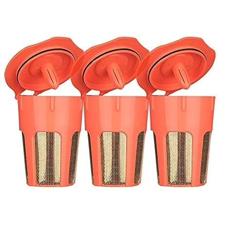 Amazon.com: Filtros K-Carafe reutilizables de oro de 24 K ...