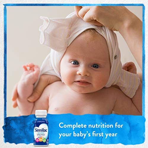 Similac Advance Infant Formula with Iron, Baby Formula, Ready to Feed, 8 fl oz (Pack of 24) by Similac (Image #2)