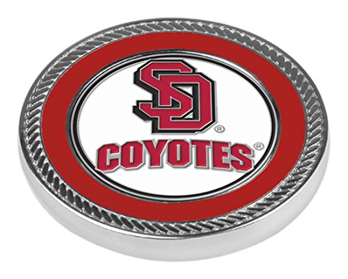 NCAA South Dakota Coyotes – Challenge Coin / 2ボールマーカー   B00BLW8MP6