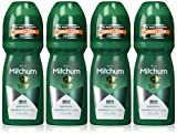 Mitchum Anti-Perspirant & Deodorant, Roll On, Advanced Unscented, 3.4 fl oz (100 ml) (Pack of 4)