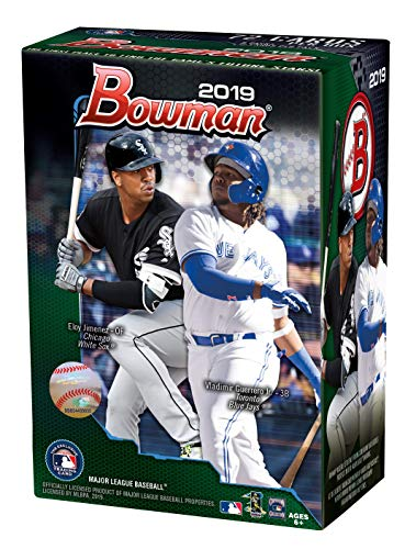 Topps 2019 Bowman Baseball Blaster Box (6 Packs/12 Cards: 5 Inserts) from Topps