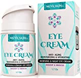 Nuva Skin Intensive Eye Cream with Rosehip & Hibiscus – Anti-Aging Under Eye Cream - Reduce the...