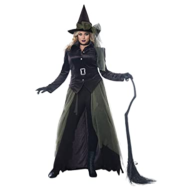 779f5ab25fc Womens Plus Size Gothic Witch Halloween Costume Black