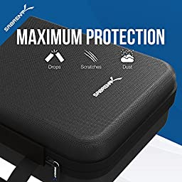 Sabrent Universal Travel Case for GoPro or Small Electronics and Accessories [Medium] (GP-CSBG)