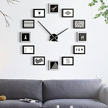 Amazon.de: moderne minimalistischen wohnzimmer wanduhr ...