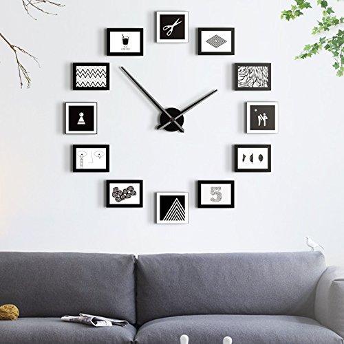 Moderne minimalistischen wohnzimmer wanduhr großes foto wanduhr uhr uhr uhr ruhige persönlichkeit quarz