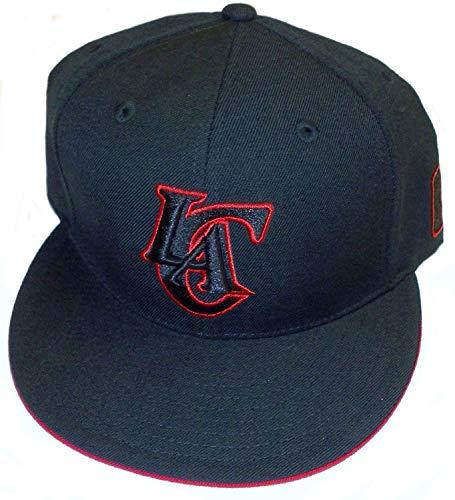 adidas NBA Los Angeles Clippers Flat Brim Fitted Hat - Size 7 3/4 - TU49M (Flat Clippers Los Angeles)