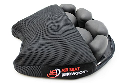 Air Motorcycle Seat Cushion Pressure Relief Pad Large for Cruiser Touring Saddles 15