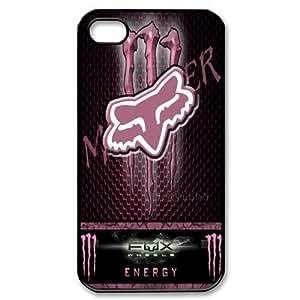 Custom Design Fox Racing Wild Color iPhone 4/4S Full Case